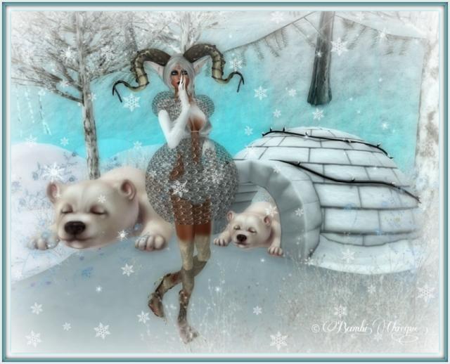 """Shhhhh! Pl:z"" by Bambi Chicque of BamPu Legacies"