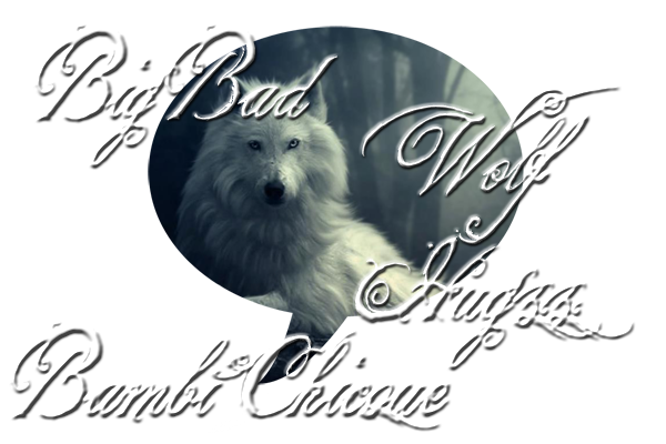 BIG BAD WOLF HUGS logo