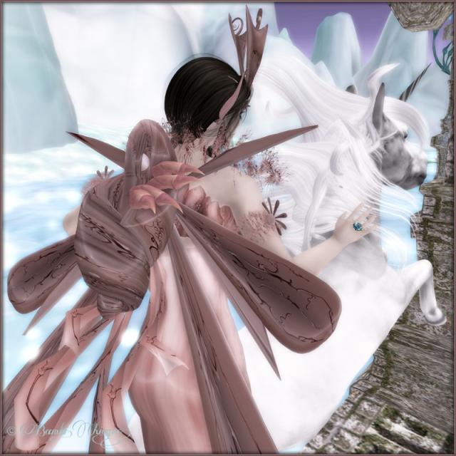 Banshee Spirit Fairy Snail Wings
