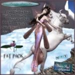 Banshee Spirit Fairy (Cream Rose) by BambiChicque