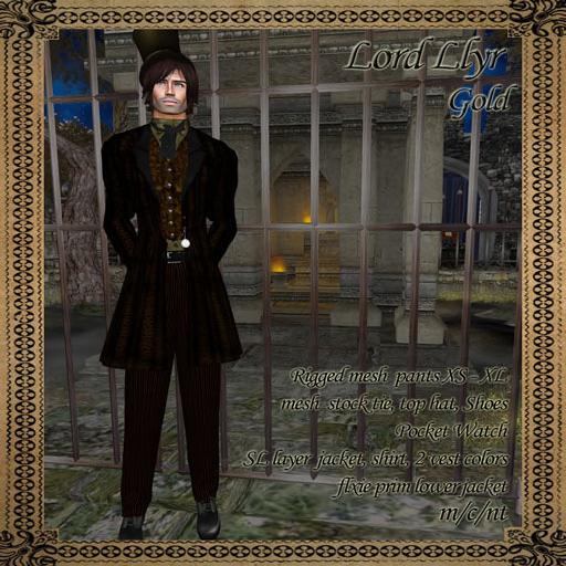 Lord Llyr Gold by BlueMoon Enterprises