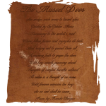 The Mused Door Poem by BambiChicque