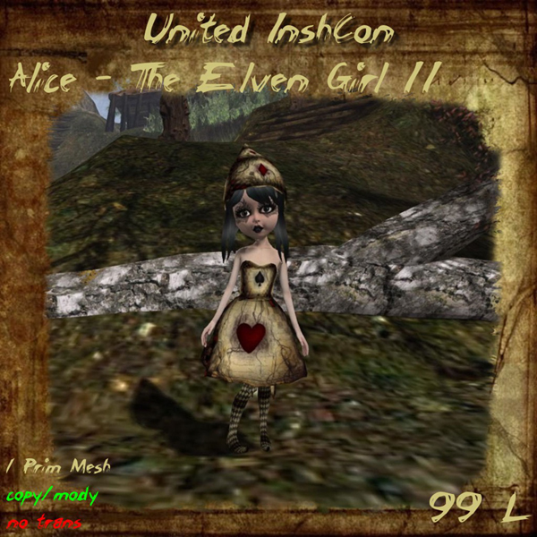 Alice the Elven Girl IIv by United InshCon