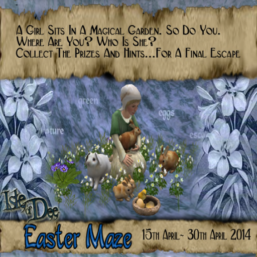 Isle of Dee Easter Maze ~ Hunt 2014