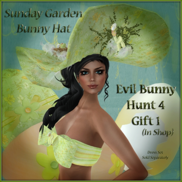 Sunday Garden Easter Hat ~ TEBH4 Gift