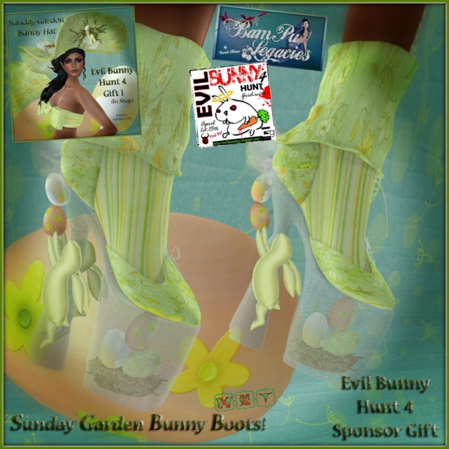 Sunday Garden TEBH4 Female Sponsor Gift & Hunt Item