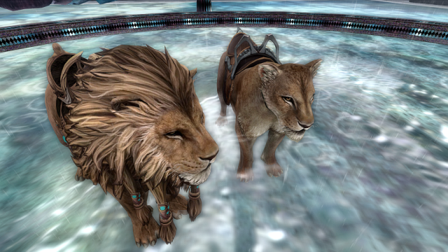 Exclusive Poses & Teal Saddle for SL11B BamPu Legacies Lion