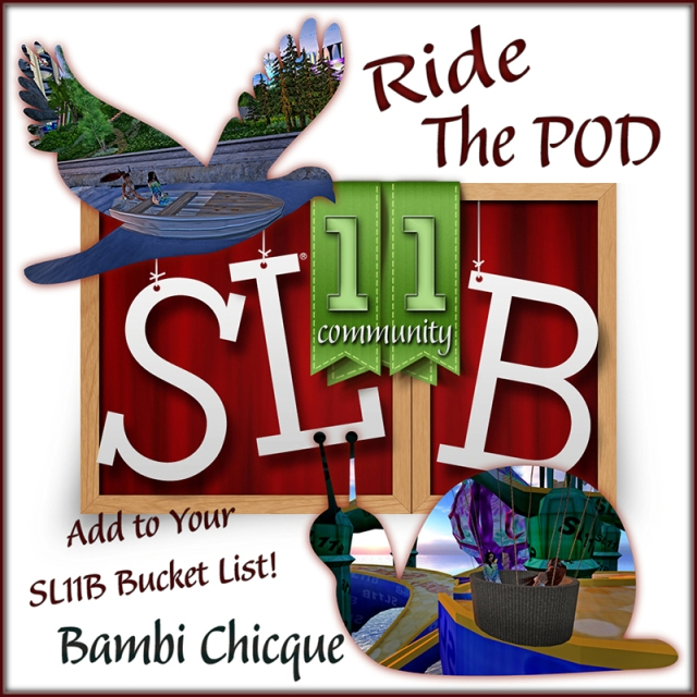 Ride The Pod Bucket List LOGo