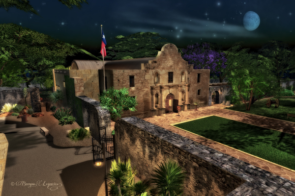 Remember The Alamo by Bambi Chicque