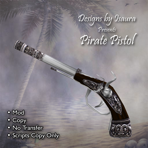 Pirate Pistol by Designs by Isaura