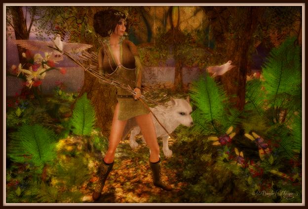 """Dayspring Hunt"" by Bambi Chicque"