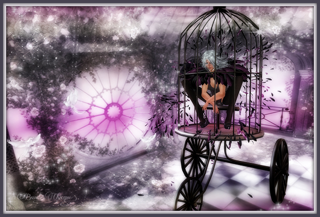 """Bewildered & Caged"" by Bambi Chicque"