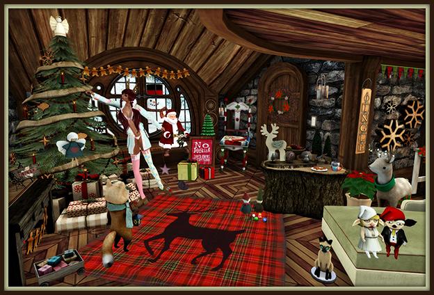 """""""I Spy Christmas Elves"""" by Bambi Chicque"""