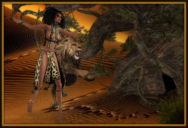 """My Tamed Protector of the Sahara"" by Bambi Chicque"