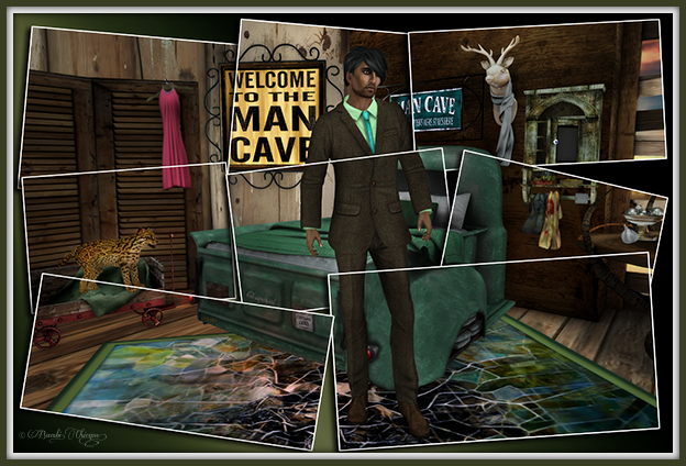 """Pieces Of A Man Cave"" by Bambi Chicque"