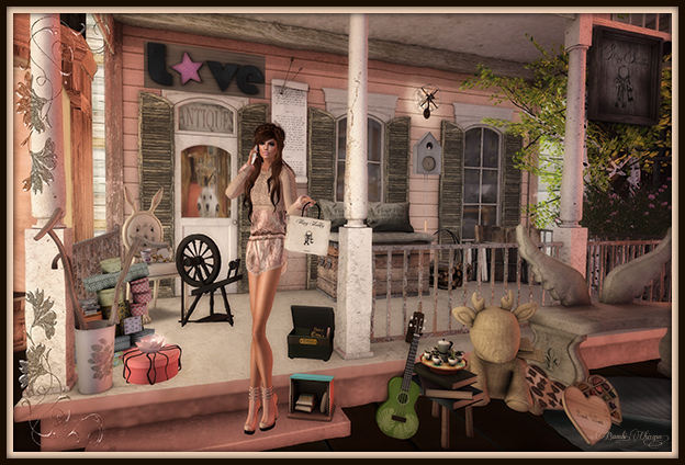 """The Frills Of Antique Shopping!"" by Bambi Chicque"