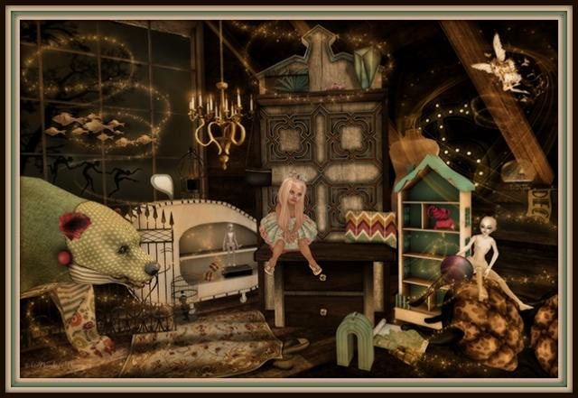 """Secrets In The Attic"" by Bambi Chicque"