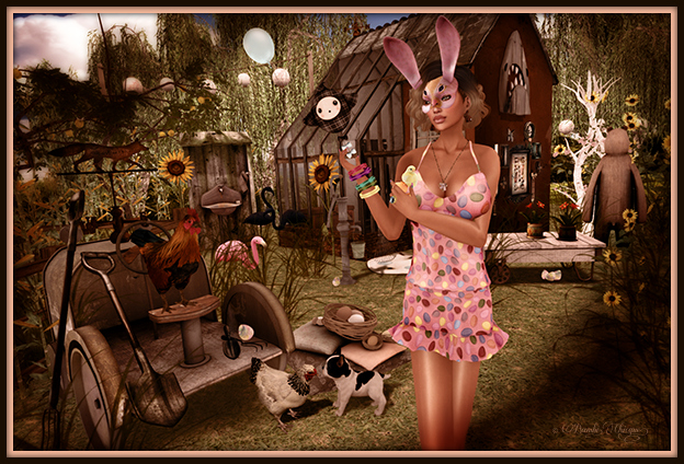 """Easter Garden"" by Bambi Chicque"