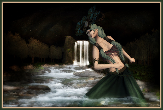 """Run River Run"" by Bambi Chicque"