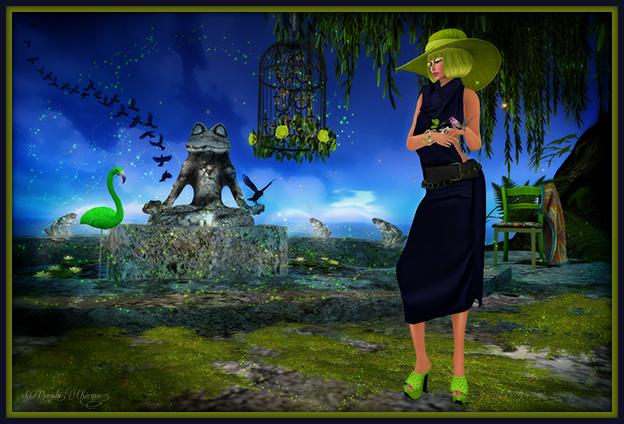 """""""Vogue Garden Dreams"""" by Bambi Chicque"""