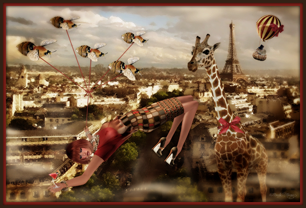 """Bucket List: Paris Surreal"" by Bambi Chicque"