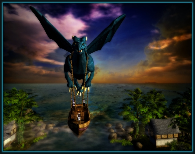 """""""I Shall Arrive Again In Rainbow Clouds"""" by Bambi Chicque"""