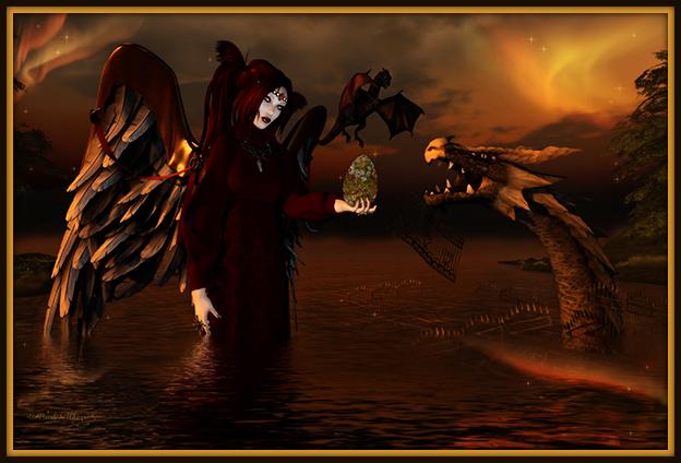 """Dante's Bulwark"" by Bambi Chicque"