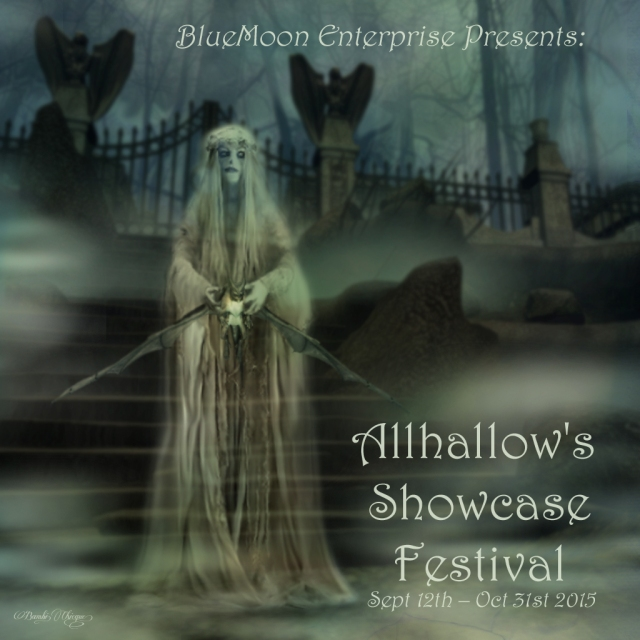 """Allhallows Showcase Festival Poster"" by Bambi Chicque"