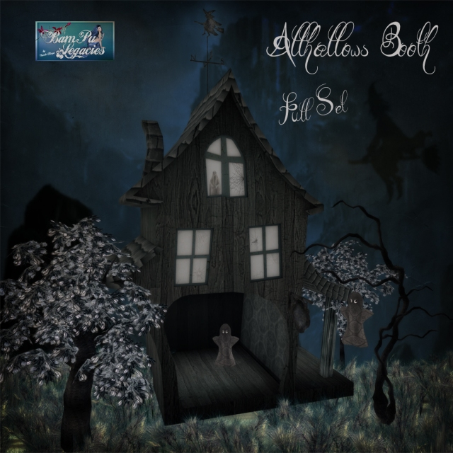 """""""Allhallows SLATE Booth Full Set"""" by Bambi Chicque"""