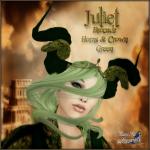 BC~Juliet Brocade Horns & Crown GreenAD