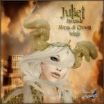 BC~Juliet Brocade Horns & Crown WhiteAD