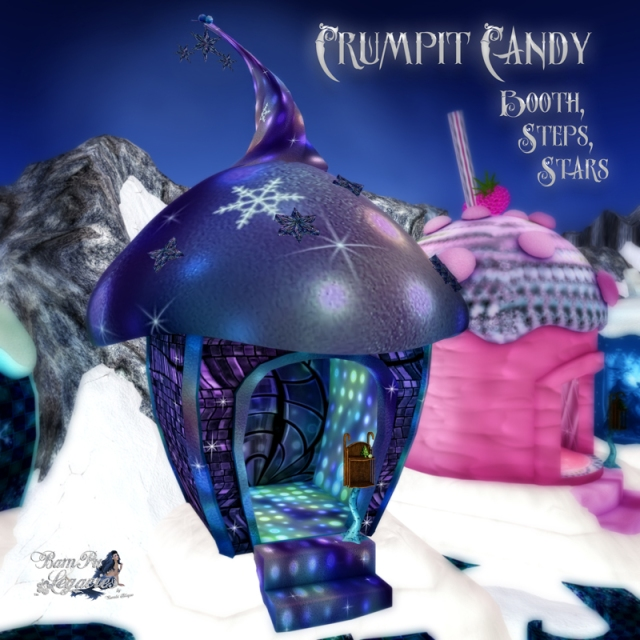 Crumpit Candy Booth by Bambi Chicque