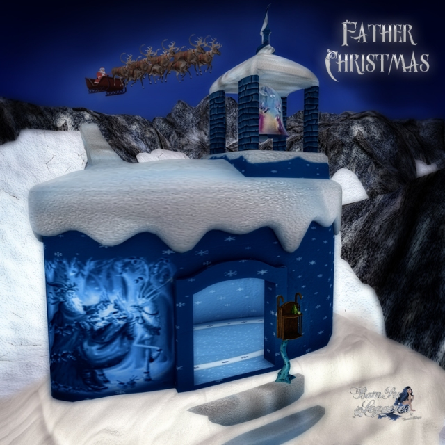 Father Christmas Booth by Bambi Chicque