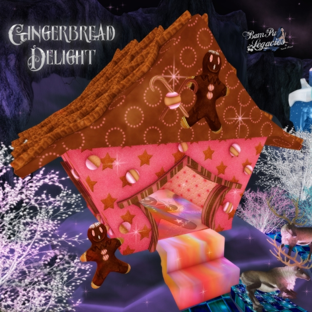 Gingerbread Delight House by Bambi Chicque