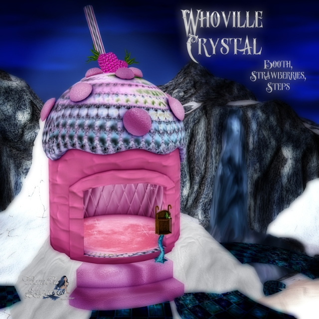 Whoville Crystal Booth by Bambi Chicque