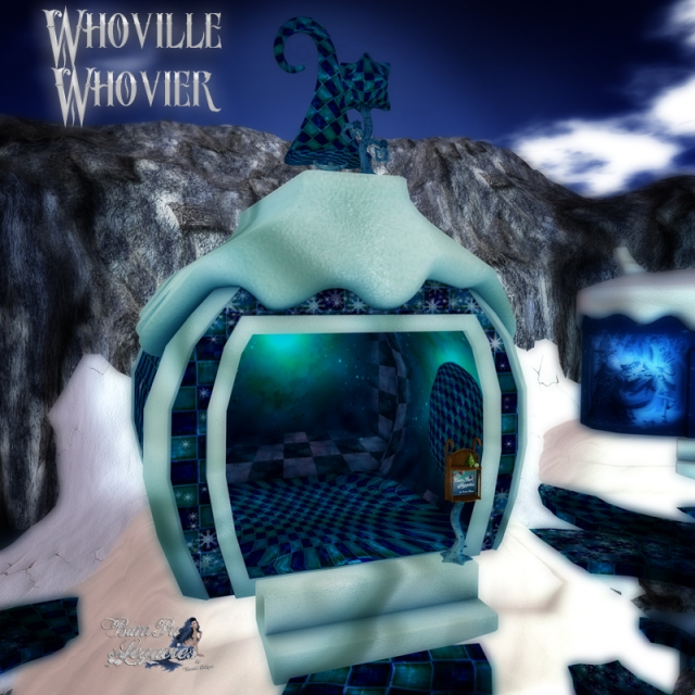 Whoville Whovier Booth & Decor by Bambi Chicque