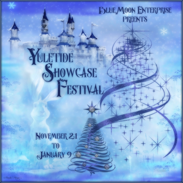 Yuletide Showcase Festival Poster by Bambi Chicque