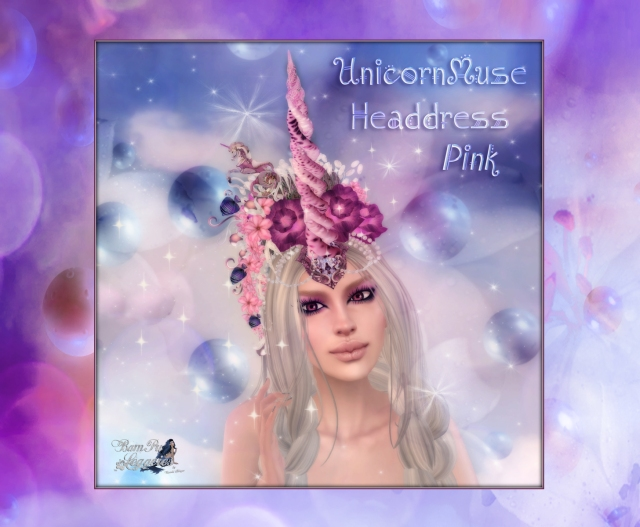 Unicorn Muse Pink Headdress AD