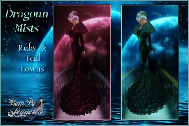 """Dragoun Mists Gown Fair Play Exclusive"" by Bambi Chicque"