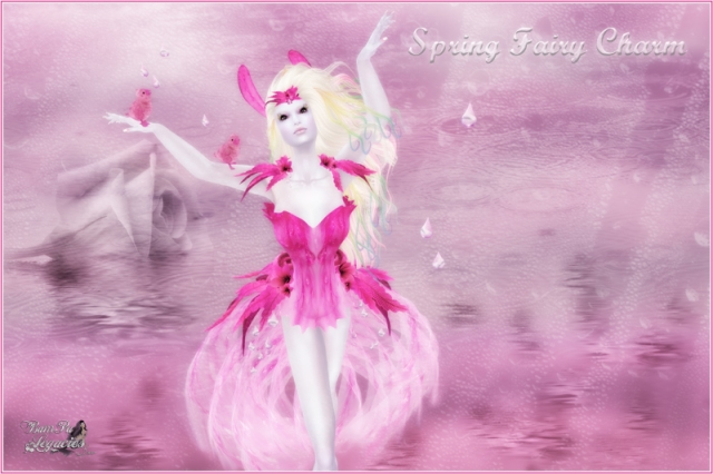 """Spring Fairy Charm Full Set"" by Bambi Chicque"