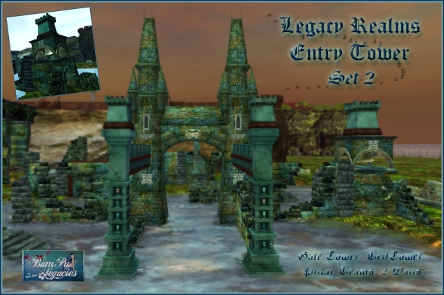 SET 2 Legacy Realms Ruins Entry Tower