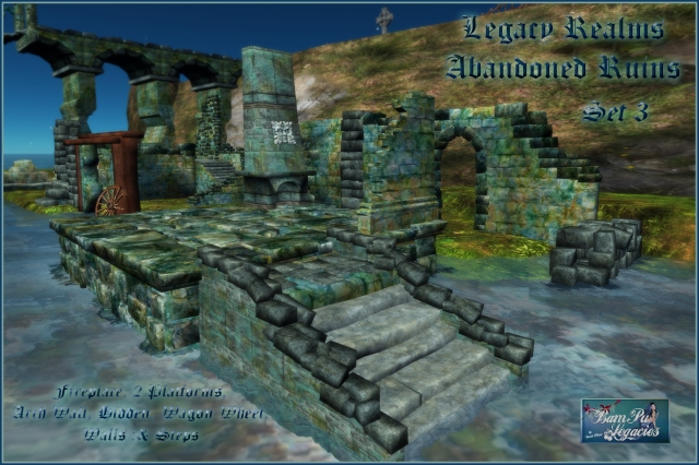 SET 3 Legacy Realms Abandoned Ruins