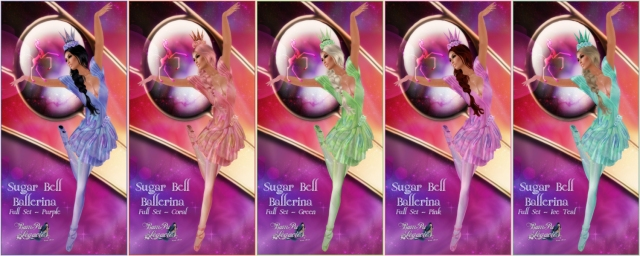 Sugar Bell Ballerina 5 Colors by BamPu Legacies