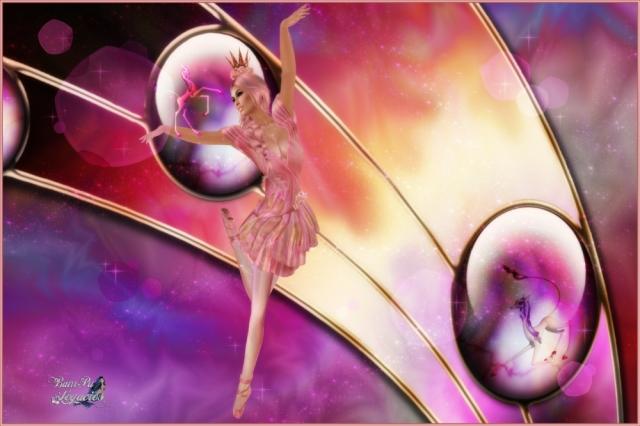 Sugar Bell Coral Ballerina by BamPu Legacies / Bambi Chicque