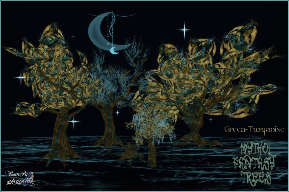 Mythol Fantasy Trees & Stump GN-TQ