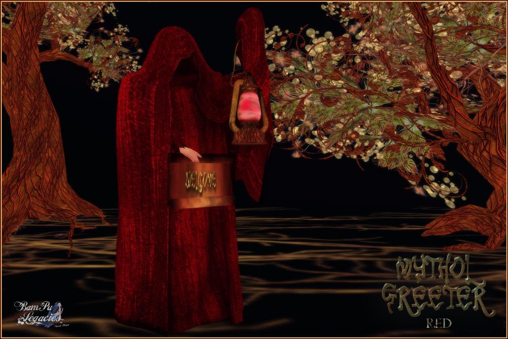 Mythol Greeter Red by BamPu Legacies